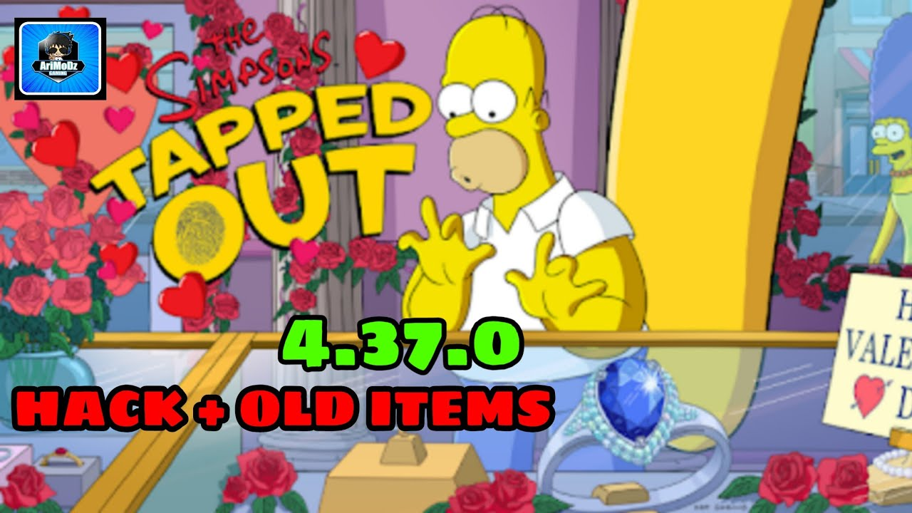 the simpsons tapped out mod apk 4.37.0