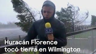 Huracán Florence tocó tierra en Wilmington, genera olas de más de 7 metros - Despierta con Loret