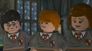 LEGO Harry Potter Years 5-7 Walkthrough Part 3 - Year 5 - 'Focus!'