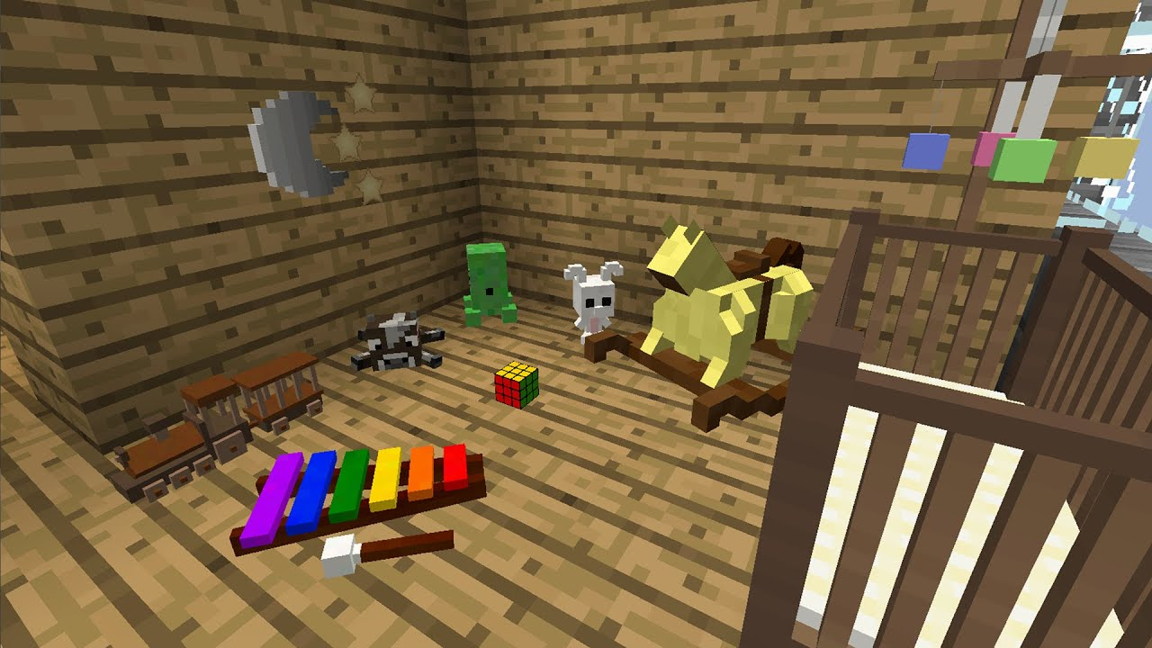 How To Make A Fancy Bed With Clay In Minecraft