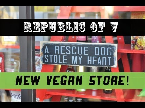 Republic of V ♥ New Vegan Store in Berkeley!