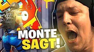 Monte sagt... es geht um 400 Euro | Fortnite | SpontanaBlack