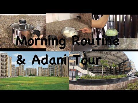Indian Mom Sunday Morning Routine | Adani Tour | Breakfast Routine | Priya Vlogz