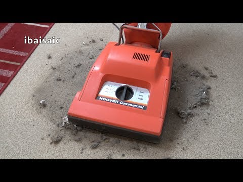 Hoover U7069 Conquest Commercial Upright Vacuum Cleaner Unboxing