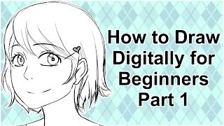 How to Draw Digitally for Beginners in Manga Studio 5/Clip Studio Paint Part 1