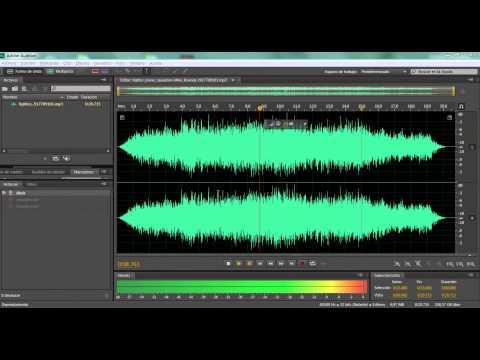 Técnicas de edición de Audio con Adobe Audition CC.