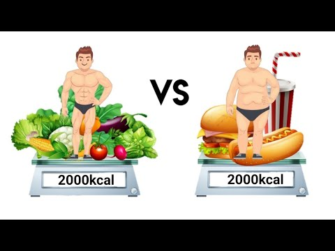 Same Calories, Healthy Food Vs Junk Food | Is There A Difference?