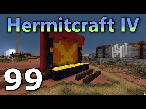 Hermitcraft 4 Ep.99- Living on a Lighted Stage