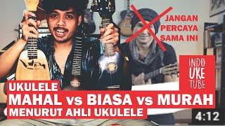 Perbandingan Ukulele Mahal dan Murah menurut Pakar (bukan Anji) - Comparison Video Ukulele Soprano
