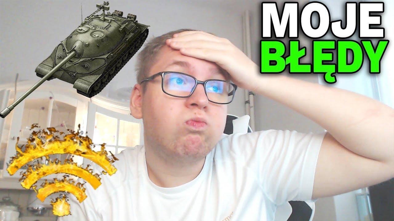 MOJE BŁĘDY – Początki w nowym klanie – World of Tanks