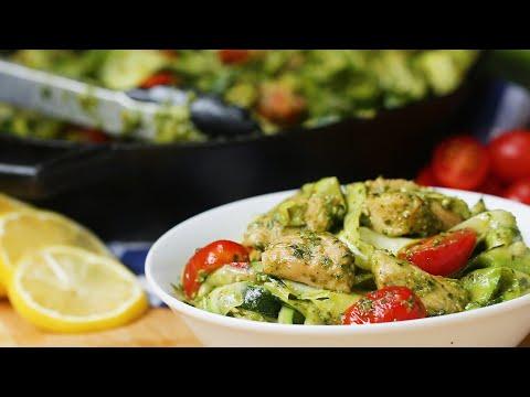 Download Youtube: Chicken Pesto and Zucchini