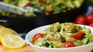 Chicken Pesto and Zucchini