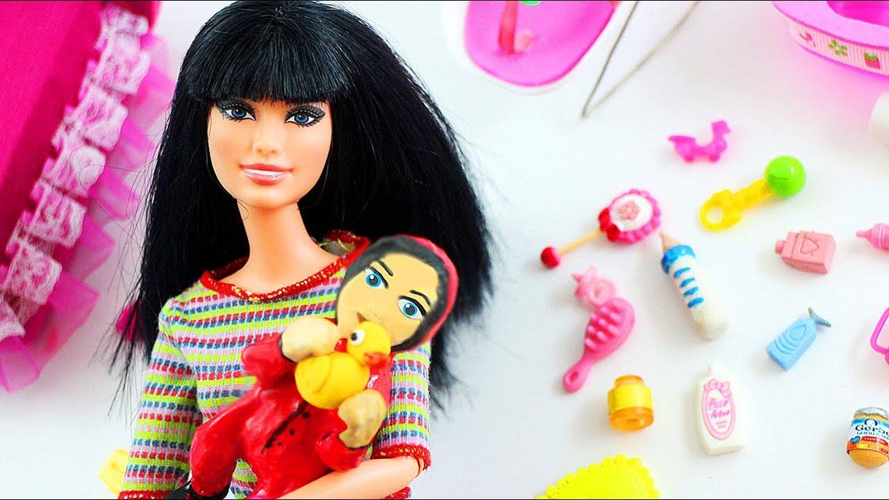 diy miniatura cmo hacer un beb con papel higinico para tu barbie para muecas youtube