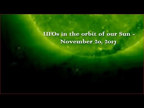 nouvel ordre mondial | UFOs in the orbit of our Sun - November 20, 2017