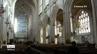 """Travel & Weekend"" - ""Bath Abbey"" -  Bath Spa - England - UK - by Leisury TV"