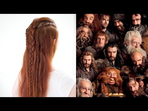 Hairstyles Inspired by Each of The Dwarves in the Hobbit