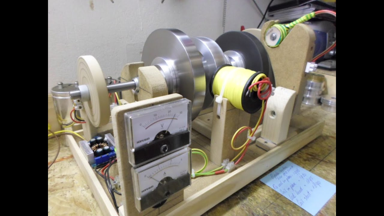 1a7fb663216 Flux Gate Generator - Update 8 Rotation of rotor   ring magnet - 8 pole  rotor.