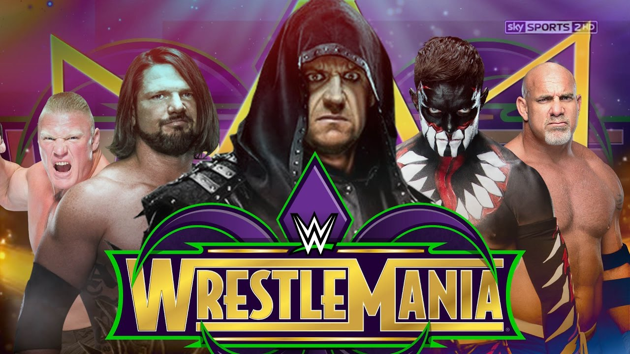 Image result for wwe WrestleMania 34 card live