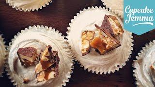 Salted Caramel Chocolate Mudslide Cupcake Recipe | Cupcake Jemma