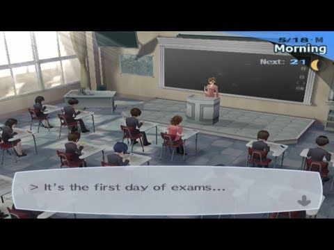 Persona 3 FES [School Exams] 5/18-23