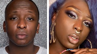 Download lagu Full Make-Up AND Wig transformation from JayWill to Kandie 💄