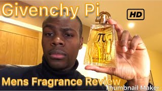 Givenchy Pi Mens Fragrance Review ✨