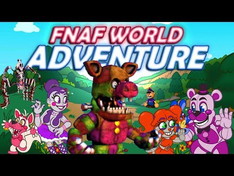 PORKPATCH AND BROWBOY ARE NO MATCH FOR BABY AND THE GANG | FNaF WORLD ADVENTURE