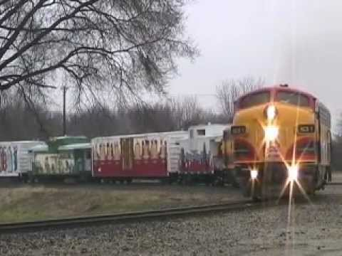 """Kansas City Southern """"Holiday Express"""" 12/13/2011"""