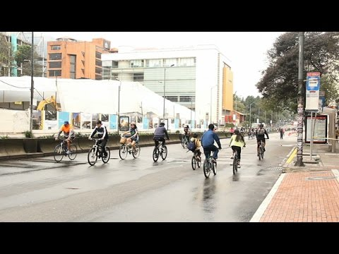 A fantástica Bogotá de bicicleta