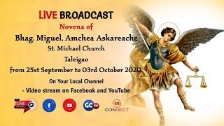 NOVENA MASS    ST. MICHAEL THE ARCHANGEL    LIVE    TALEIGAO CHURCH    02 OCTOBER 2020