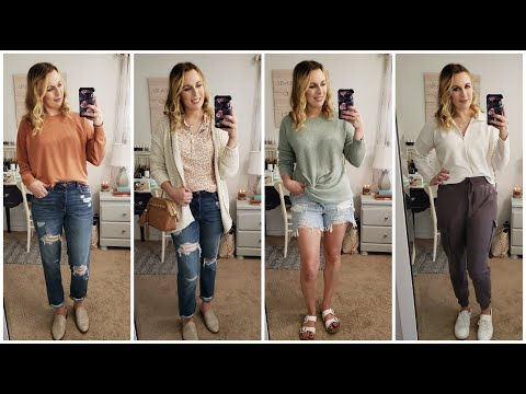 American Eagle / Aerie Try On Haul AE Summer/Fall 2020 II Lindsey Loves