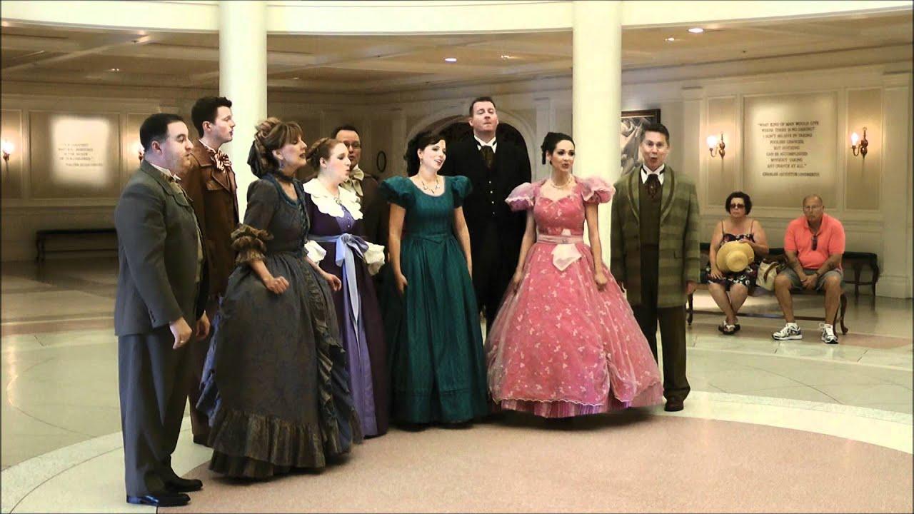 Voices Of Liberty Epcot Walt Disney World Hd 1080p