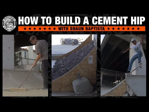 #THEBUILDPROJECT : How To Build a Cement Hip with Shaun Baptista