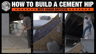 #THEBUILDPROJECT : How To Build a Cement Hip with Shaun Baptista streaming