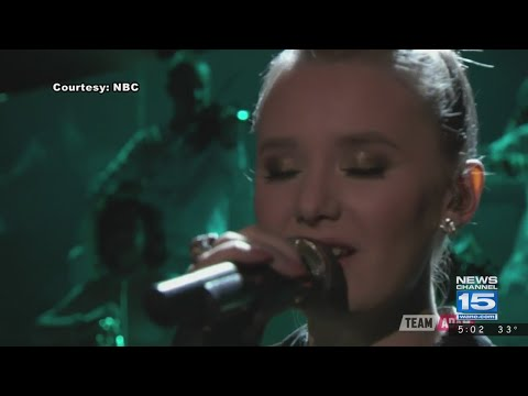 Addison Agen on to 'Voice' finals