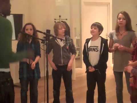Session choeurs 20 ans au Studio Sun / Les kids!!