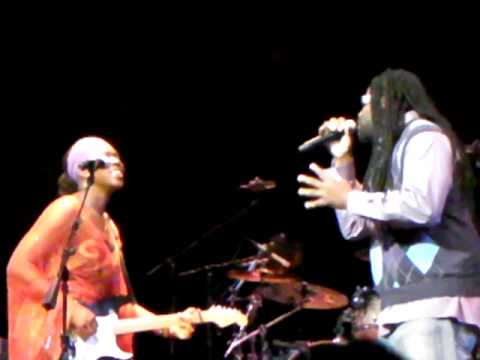 India Arie and Gramps Morgan Therapy - AWESOME Live Rare Remix