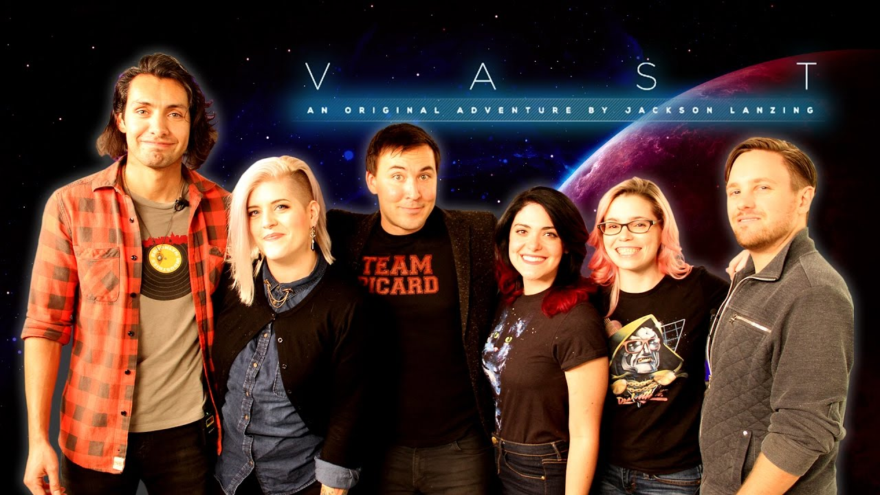 New rpg show on alpha vast full pilot sneak peek youtube for Jackson galaxy band