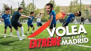 VOLEA EXTREME CHALLENGE CON EL REAL MADRID