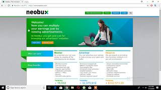 How to earn handsome amount of money online using neobux... with 100% payment proof method