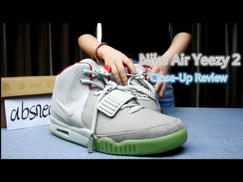 Air Yeezy 2 Wolf Grey Pure Platinum shoes