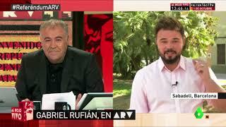 Gabriel Rufián hace el ridículo en La Sexta thumbnail