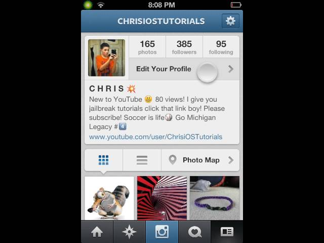 How to skip lines in instagram bio - Clip FAIL