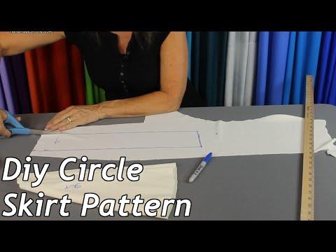 DIY Circle Skirt Pattern