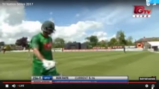Walton tri nation series Live Stream bangladesh vs newzeland 2017