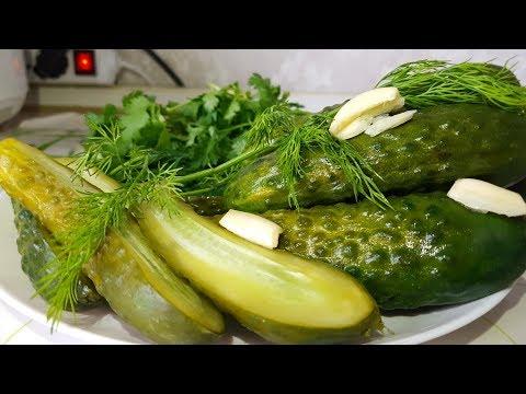 Малосольные огурцы цыганка готовит. Как молосолить огурцы. Gipsy Cuisine.