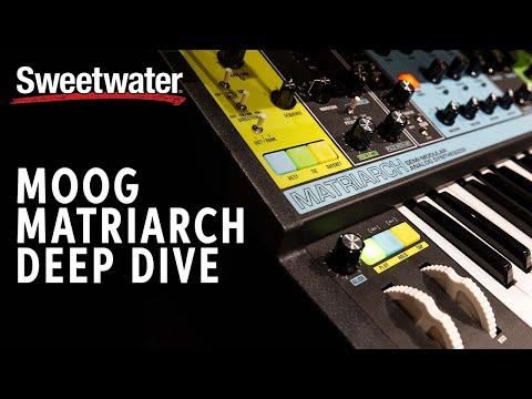 Moog Matriarch Deep Dive — Daniel Fisher