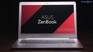 Обзор ультрабука ASUS ZenBook UX330UA в 4k