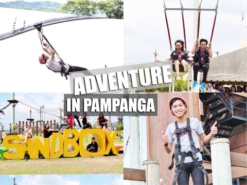 VLOG: Sandbox in Porac, Pampanga (Roller Coaster Zipline, Giant Swing, & more)