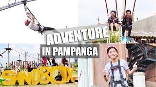 VLOG: Sandbox in Porac, Pampanga (Roller Coaster Zipline, Giant Swing, & more)